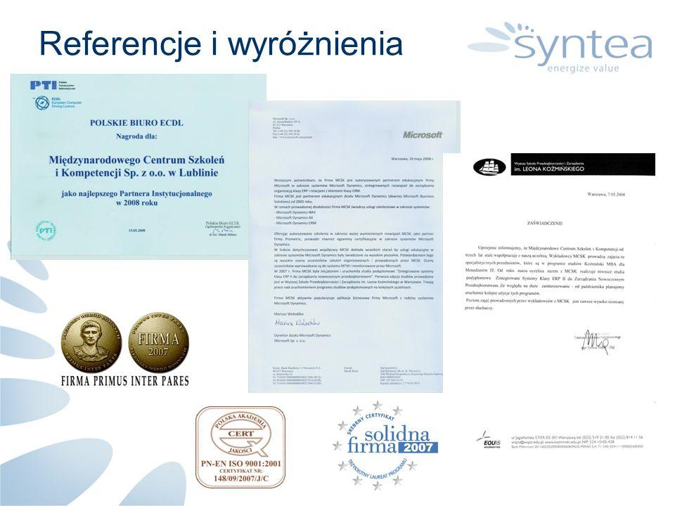 Strategia Rozwój grupy kapitałowej - w 1 kroku dołączenie CSF Polska Rozbudowa potencjału merytorycznego Zwiększenie zaplecza do świadczenia usług BPO - w tym budowa ośrodka szkoleniowo-rehabilitacyjnego Zwiększenie potencjału poprzez pozyskiwanie środków UE Do lipca 2008 złożyliśmy w partnerstwach 36 projektów na kwotę ponad 130mln PLN.