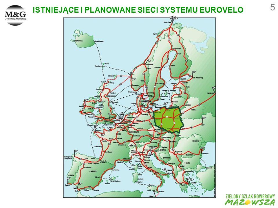 5 ISTNIEJĄCE I PLANOWANE SIECI SYSTEMU EUROVELO