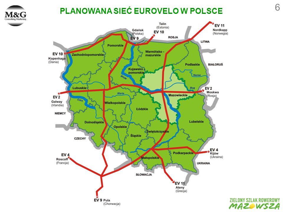 PLANOWANA SIEĆ EUROVELO W POLSCE 6