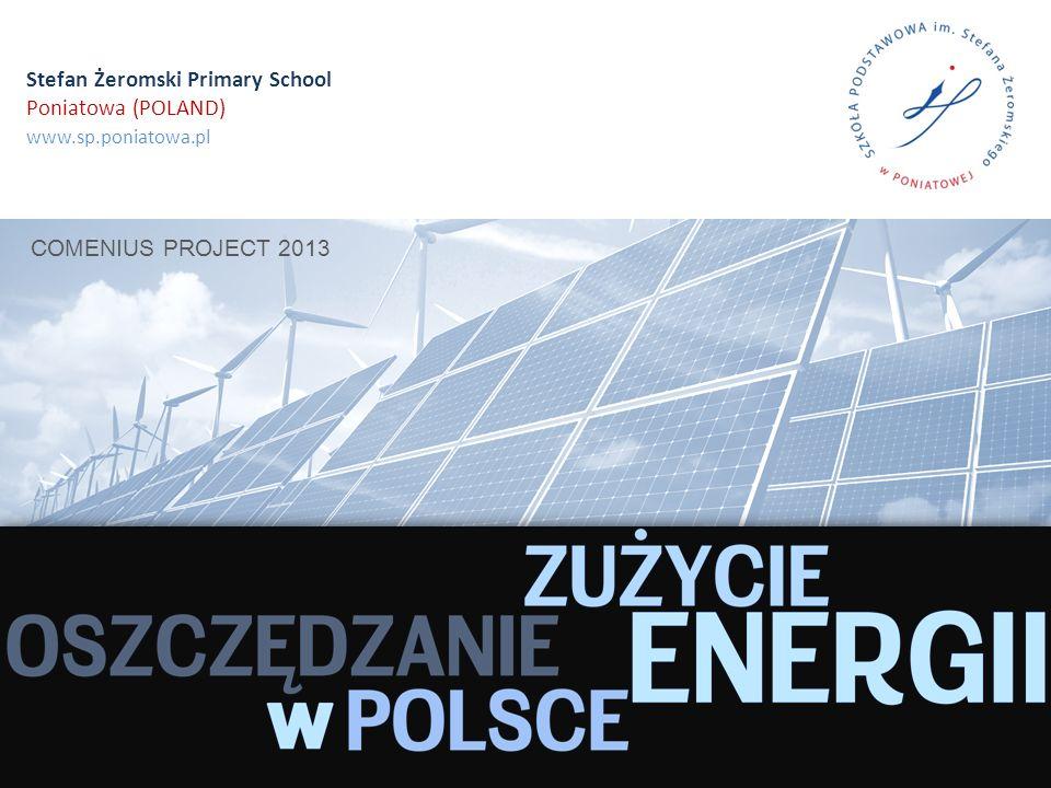 Stefan Żeromski Primary School Poniatowa (POLAND) www.sp.poniatowa.pl COMENIUS PROJECT 2013