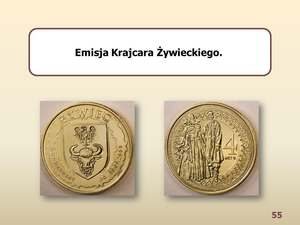 55 Emisja Krajcara Żywieckiego.