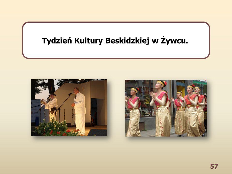 57 Tydzień Kultury Beskidzkiej w Żywcu.
