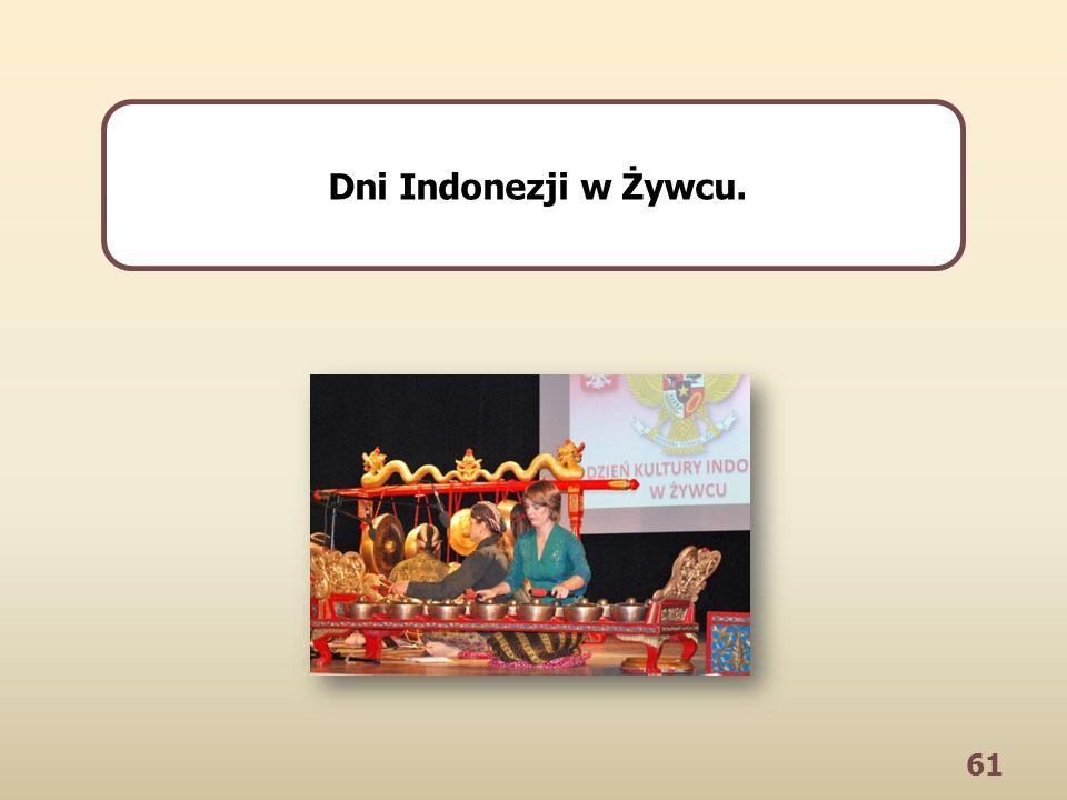 61 Dni Indonezji w Żywcu.
