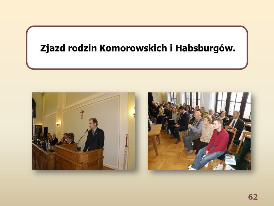 62 Zjazd rodzin Komorowskich i Habsburgów.