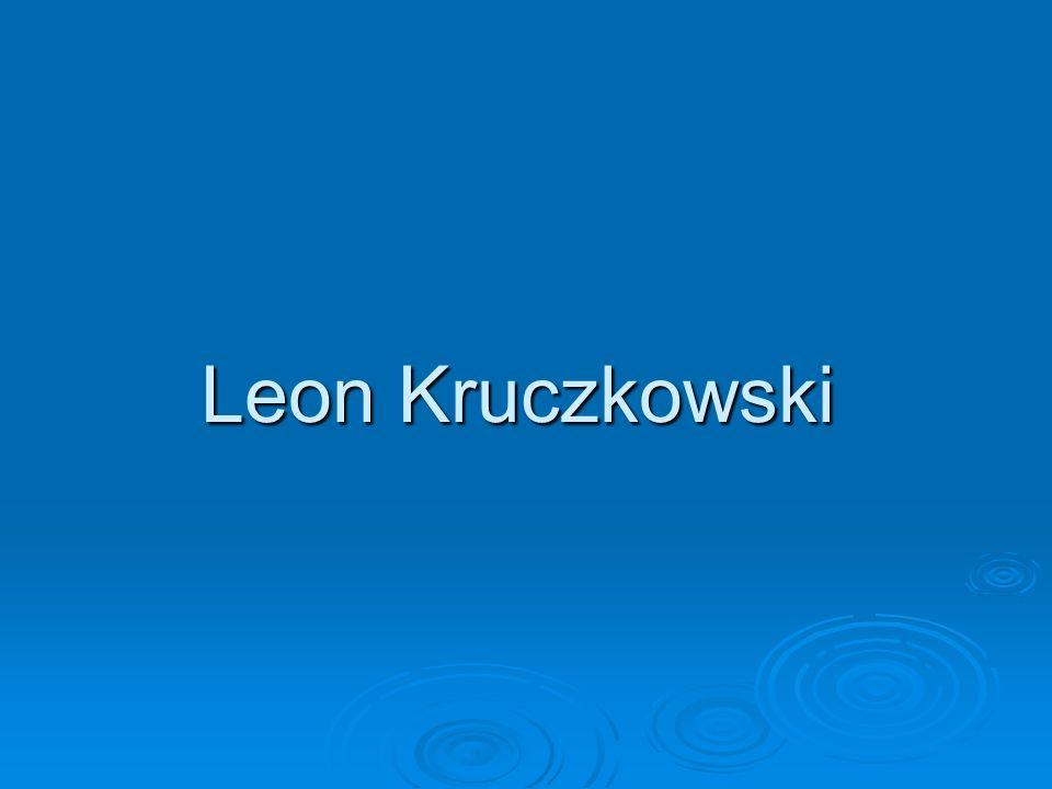 Leon Kruczkowski