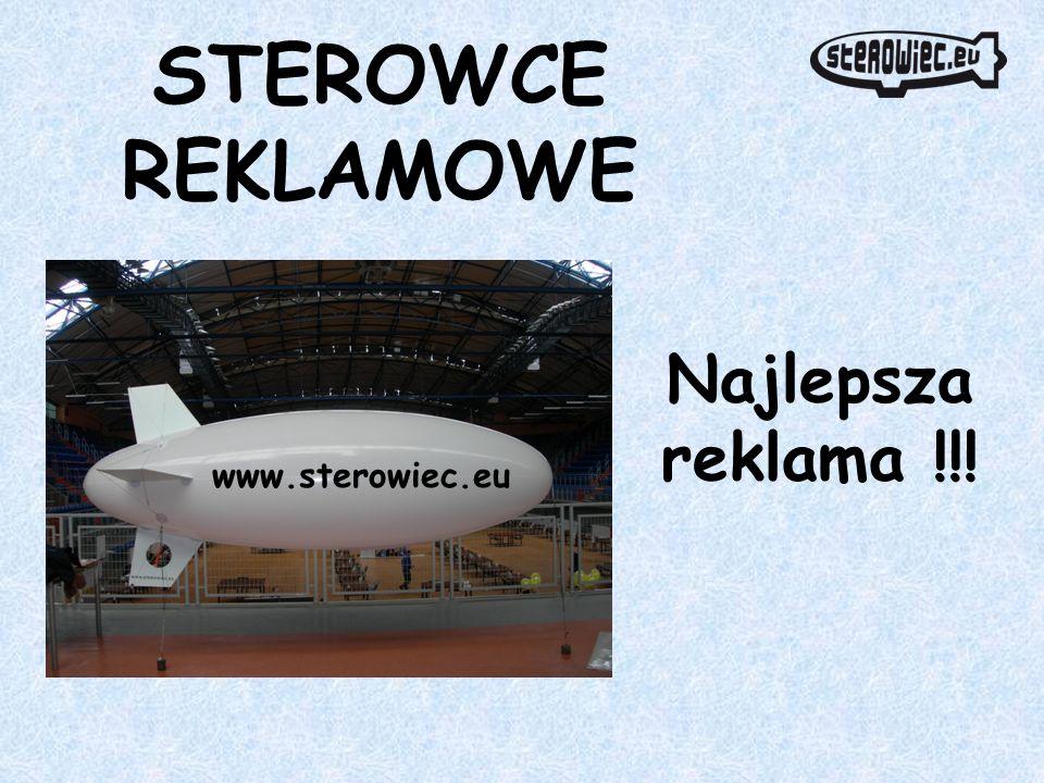 STEROWCE REKLAMOWE Najlepsza reklama !!! www.sterowiec.eu