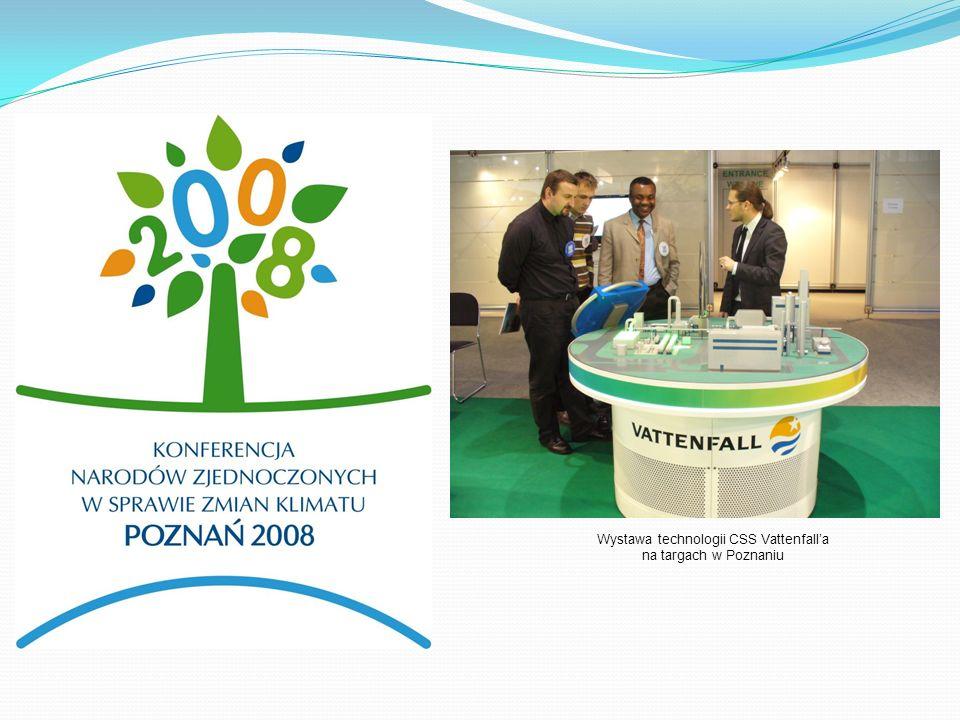 Wystawa technologii CSS Vattenfalla na targach w Poznaniu
