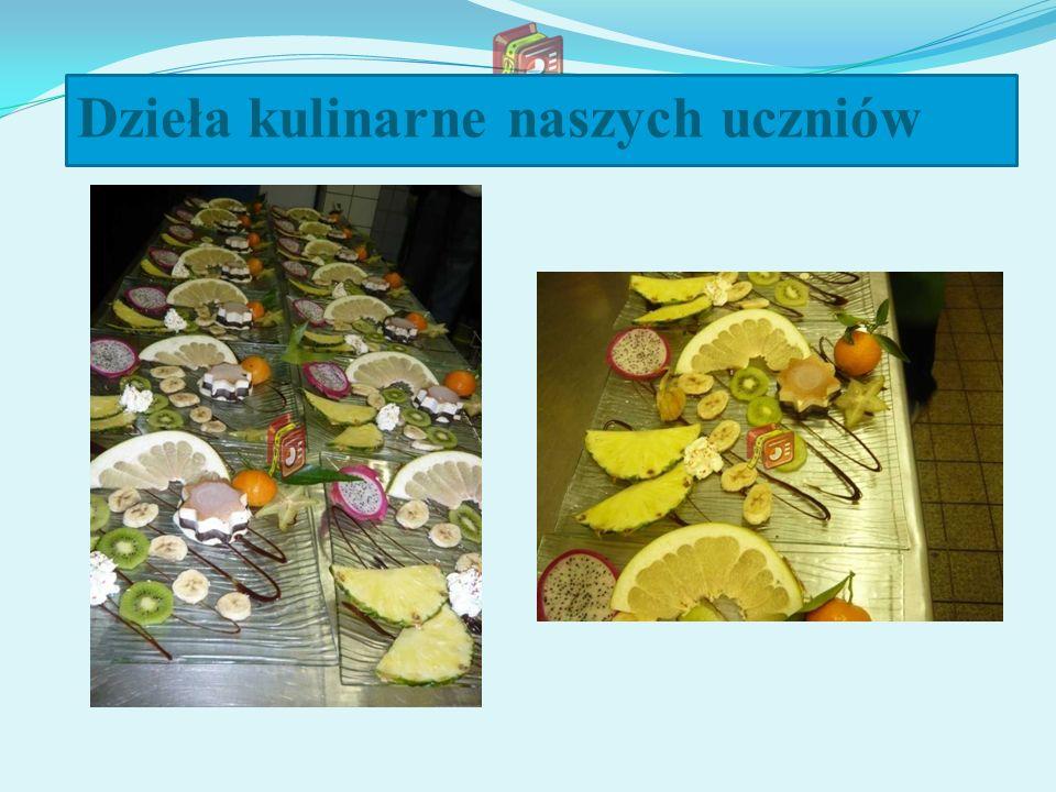 Dzieła kulinarne naszych uczniów