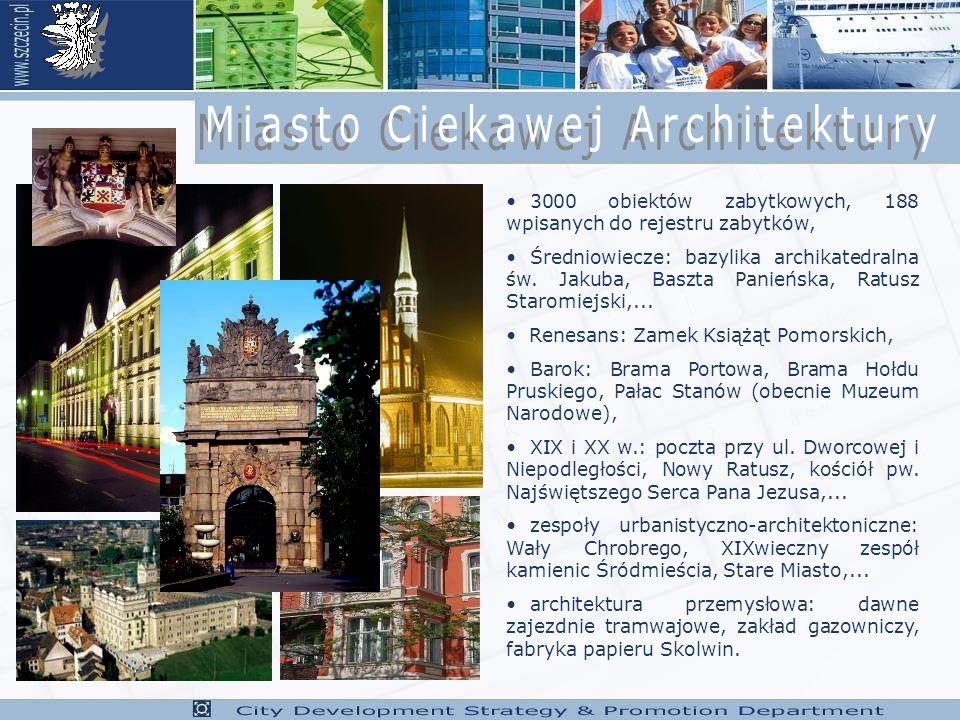 3000 obiektów zabytkowych, 188 wpisanych do rejestru zabytków, Średniowiecze: bazylika archikatedralna św.