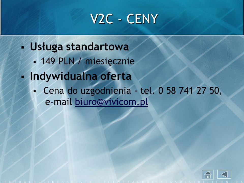 Microsoft Office Communications Server - WYGLĄD