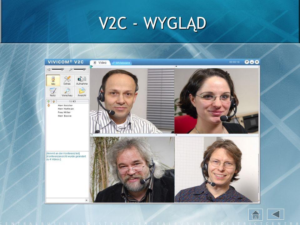 V2C - WYGLĄD