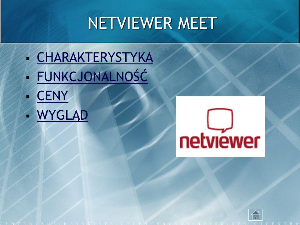 NETVIEWER MEET CHARAKTERYSTYKA FUNKCJONALNOŚĆ CENY WYGLĄD