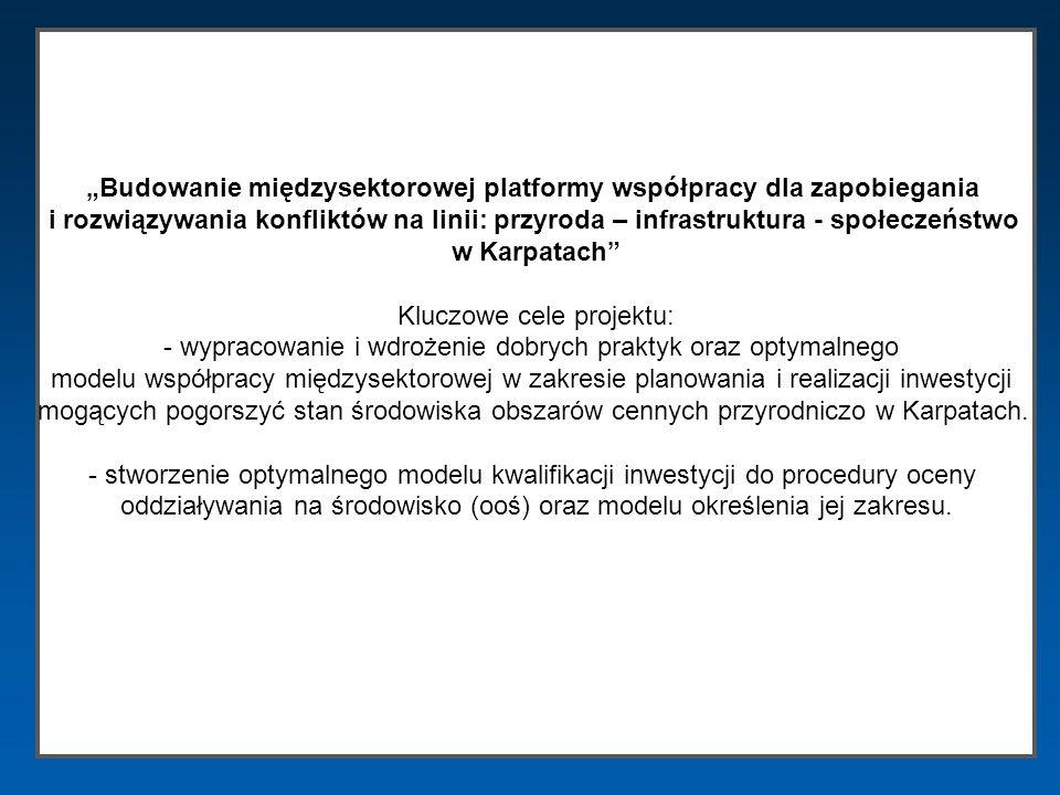 Budowanie międzysektorowej platformy współpracy dla zapobiegania i rozwiązywania konfliktów na linii: przyroda – infrastruktura - społeczeństwo w Karp