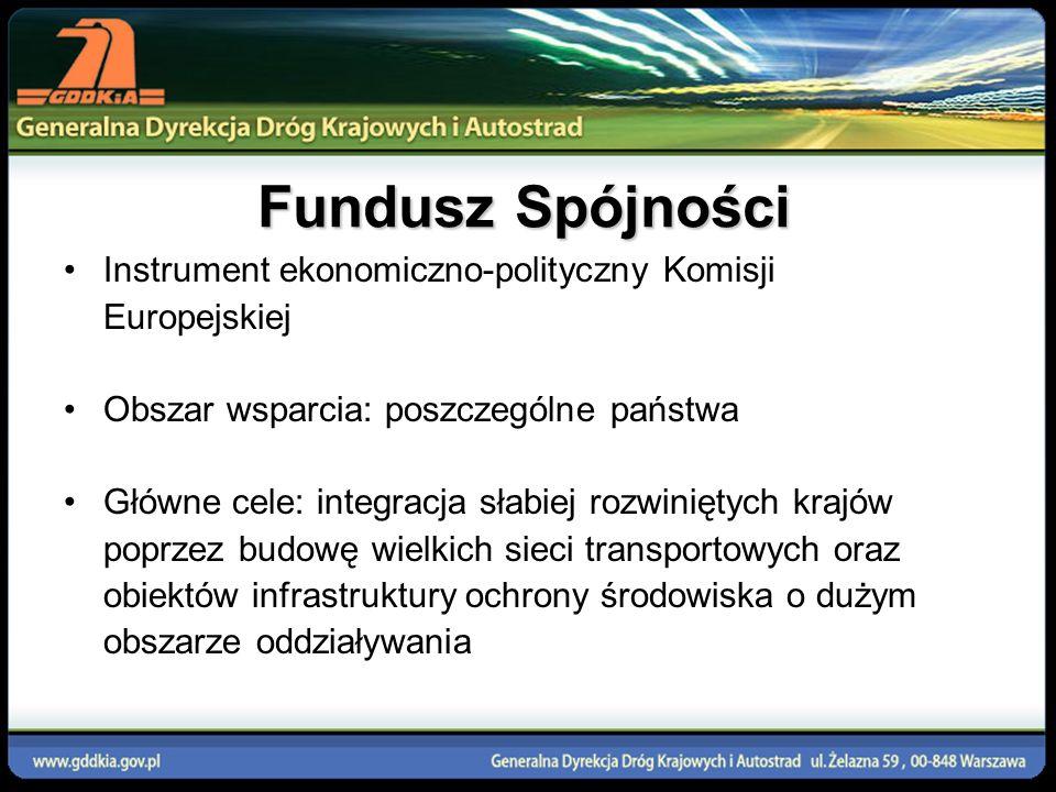 Budowa autostrady A4 Zgorzelec-Krzyżowa (51,3 km) Koszt projektu: 317 567 000 EUR Koszty kwalifikowane: 307 367 000 EUR Udział FS: 82% kosztów kwalifikowanych (252 040 940 EUR) Autostrada A4 jest częścią Europejskiego Korytarza Transportowego Nr III, przebiegającego kierunku wschód-zachód od granicy niemieckiej przez uprzemysłowioną część Polski.