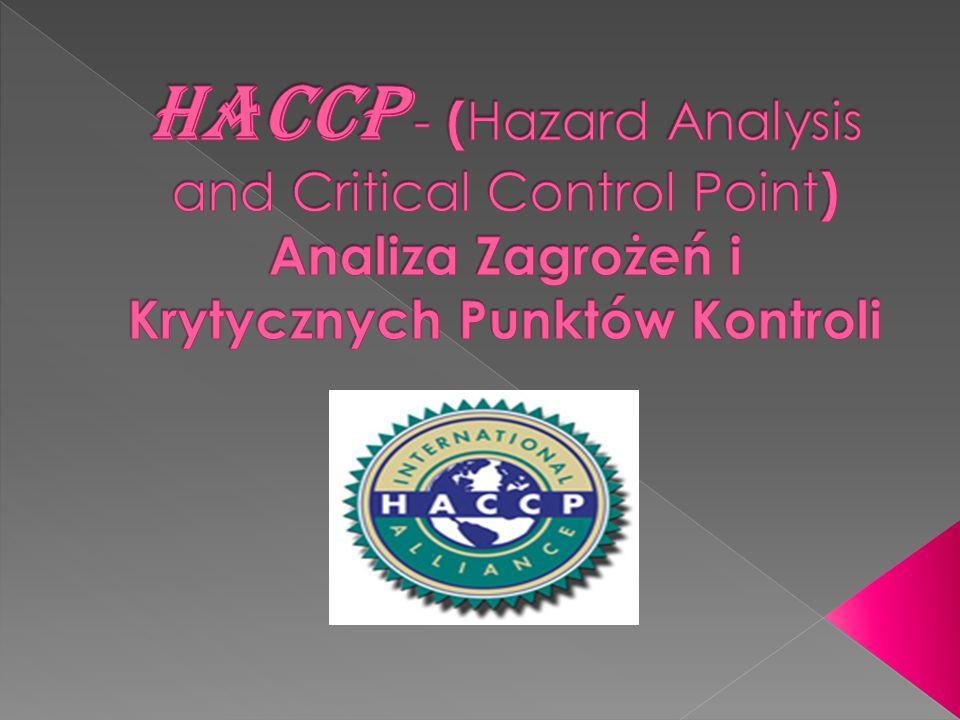 HACCP został początkowo opracowany we wczesnym okresie amerykańskiego programu kosmicznych lotów załogowych w celu zapewnienia bezpieczeństwa mikrobiologicznego żywności dla astronautów.