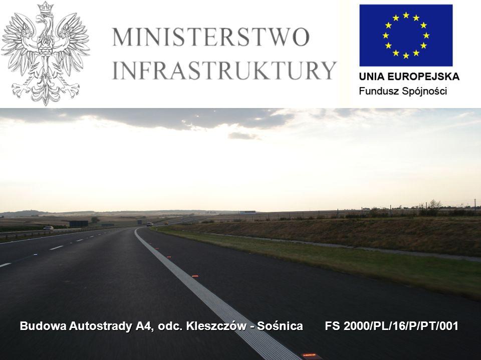 Budowa Autostrady A4, odc. Kleszczów - Sośnica FS 2000/PL/16/P/PT/001