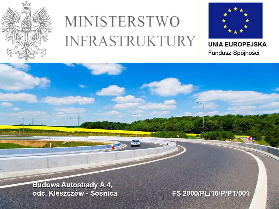 Budowa Autostrady A 4, odc. Kleszczów - Sośnica FS 2000/PL/16/P/PT/001