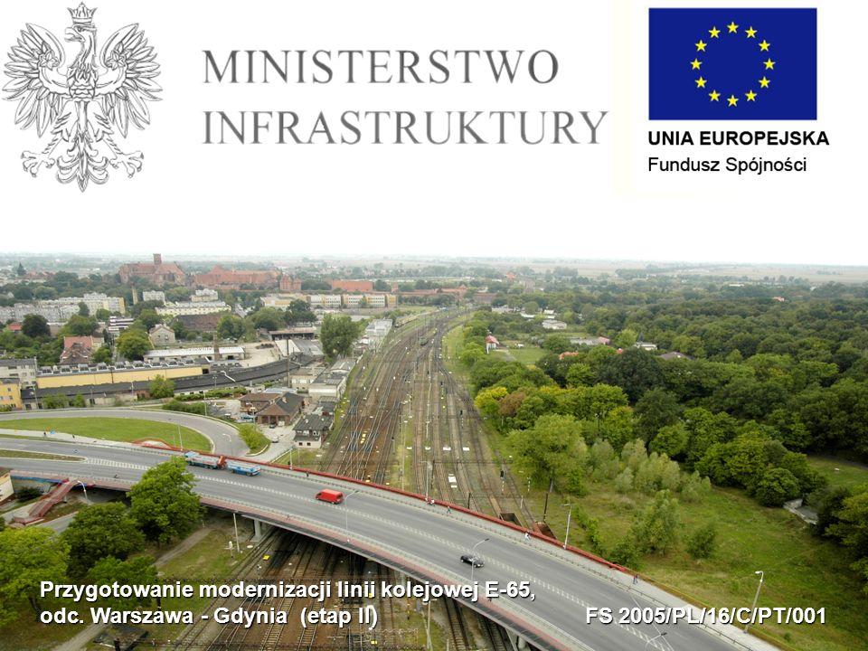 Przygotowanie modernizacji linii kolejowej E-65, odc.