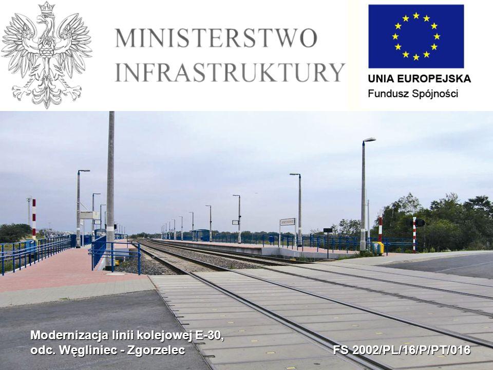 Modernizacja linii kolejowej E-30, odc. Węgliniec - Zgorzelec FS 2002/PL/16/P/PT/016