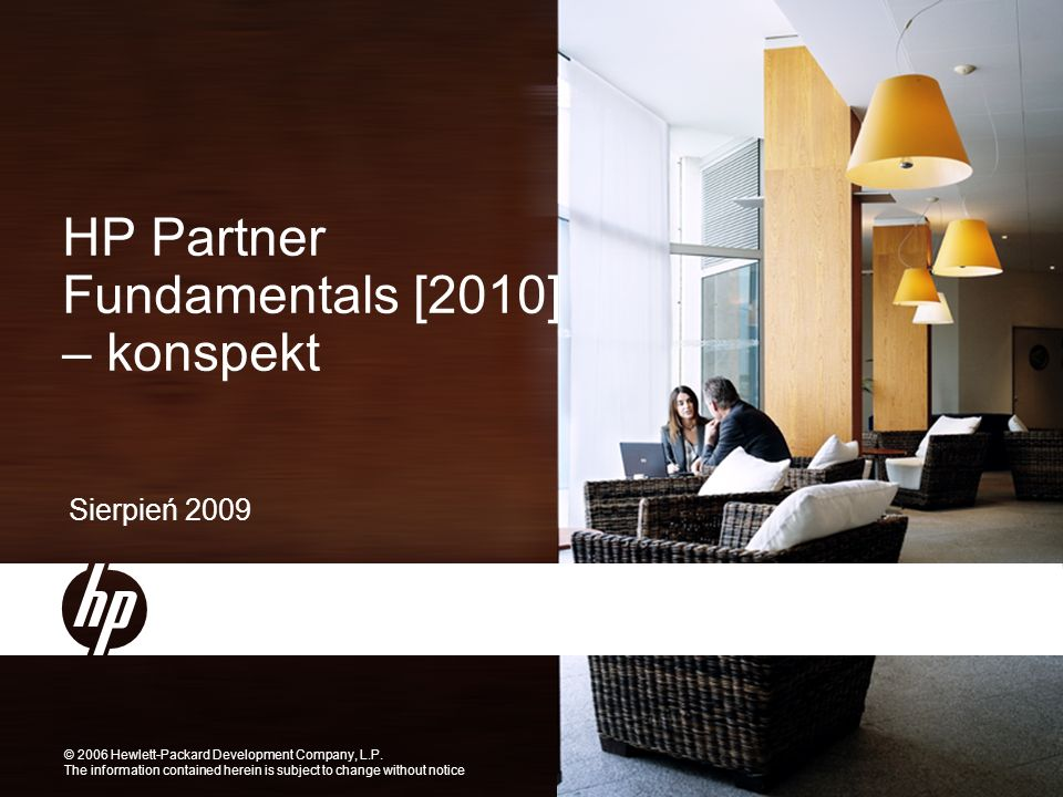 HP Partner Learning