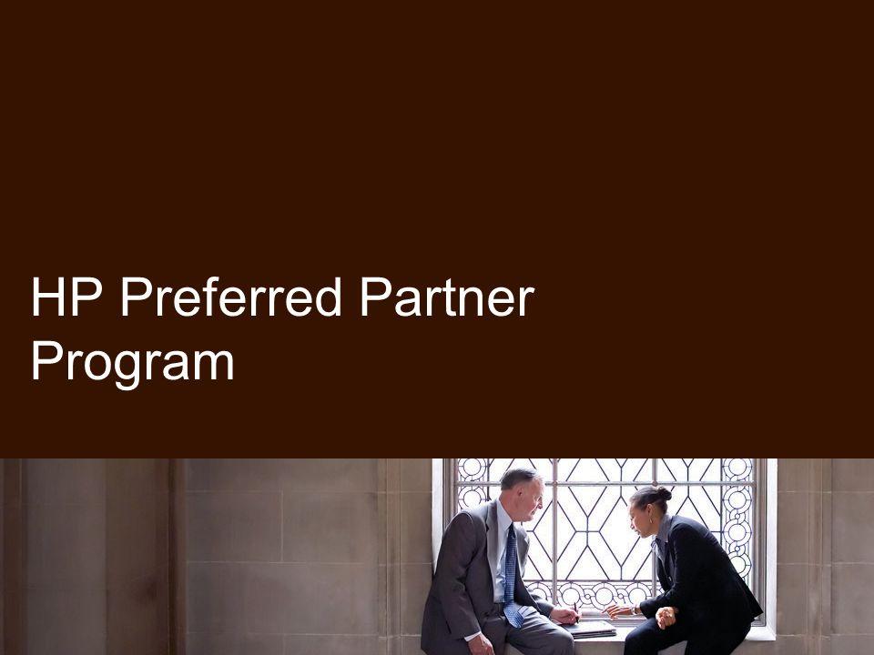 HP Preferred Partner Program