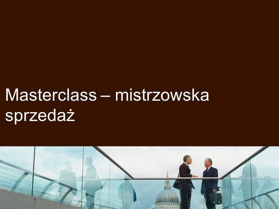 Masterclass – mistrzowska sprzedaż