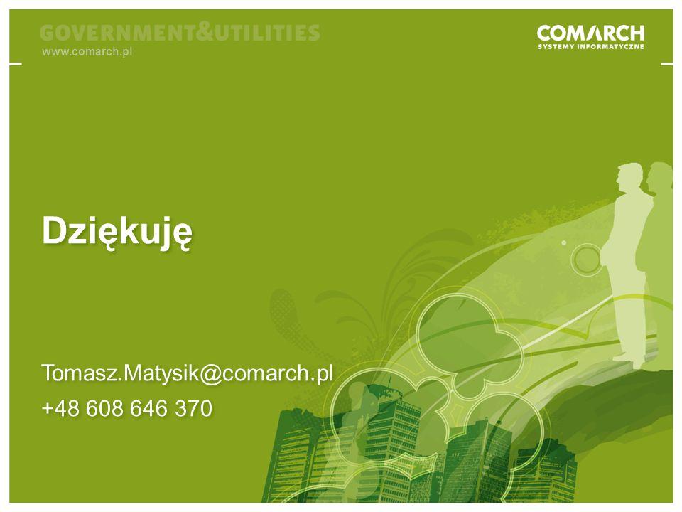 Business Intelligence jako narzędzie do walki z praniem brudnych pieniędzy Tomasz.Matysik@comarch.pl +48 608 646 370 Tomasz.Matysik@comarch.pl +48 608 646 370 Dziękuję www.comarch.pl