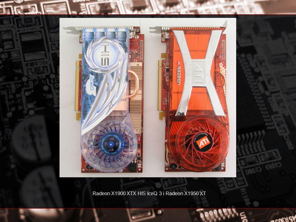 Radeon X1900 XTX HIS IceQ 3 i Radeon X1950 XT