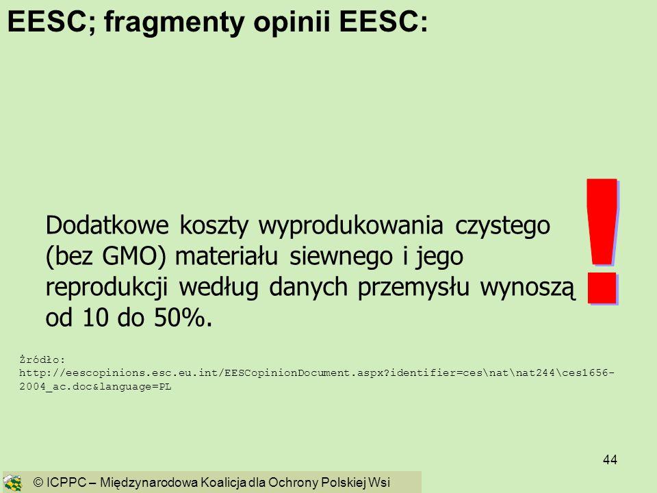 44 Żródło: http://eescopinions.esc.eu.int/EESCopinionDocument.aspx?identifier=ces\nat\nat244\ces1656- 2004_ac.doc&language=PL Dodatkowe koszty wyprodu