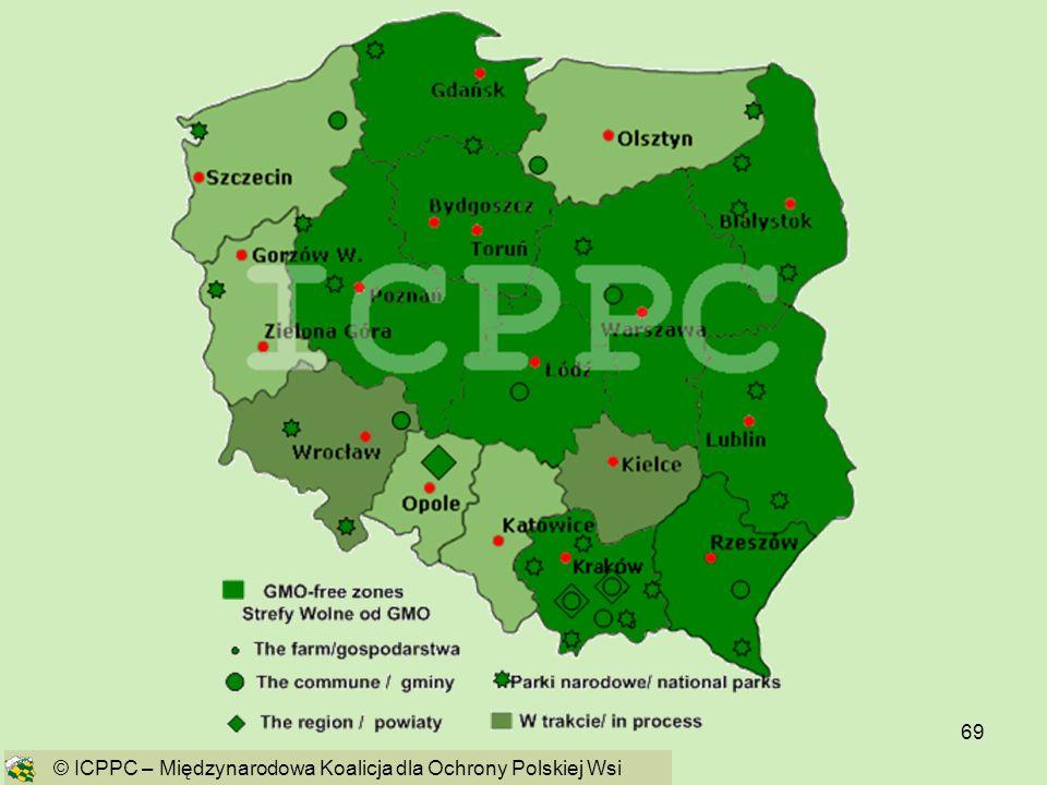 69 © ICPPC – Międzynarodowa Koalicja dla Ochrony Polskiej Wsi