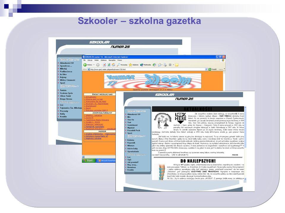 Szkooler – szkolna gazetka