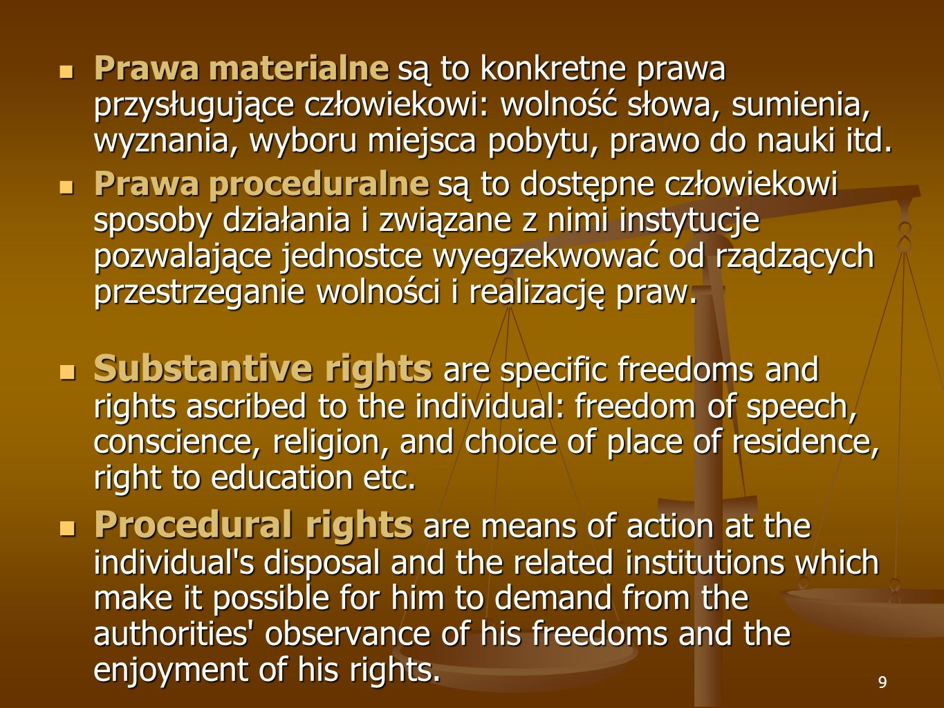 10 INDIVIDUAL RIGHTS INDIVIDUAL RIGHTS Human rights are individual.