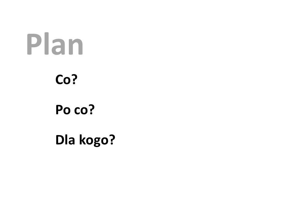 Plan Koncepcja Scenariusz