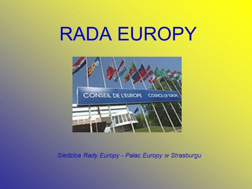 RADA EUROPY Siedziba Rady Europy - Pałac Europy w Strasburgu