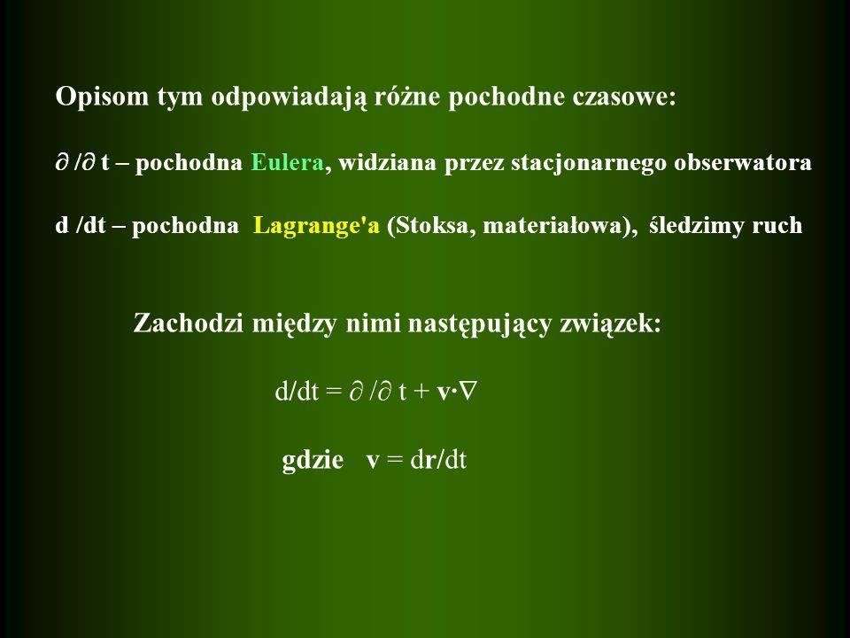 Gaz doskonały, jednoatomowy =5/3 P =0.12*( / ) -1/2 [d] Częściowo zjonizowane pierwiastki ciężkie =13/9 P =0.20*( / ) -1/2 [d] zazwyczaj 0.03 <Q<0.08 [d]