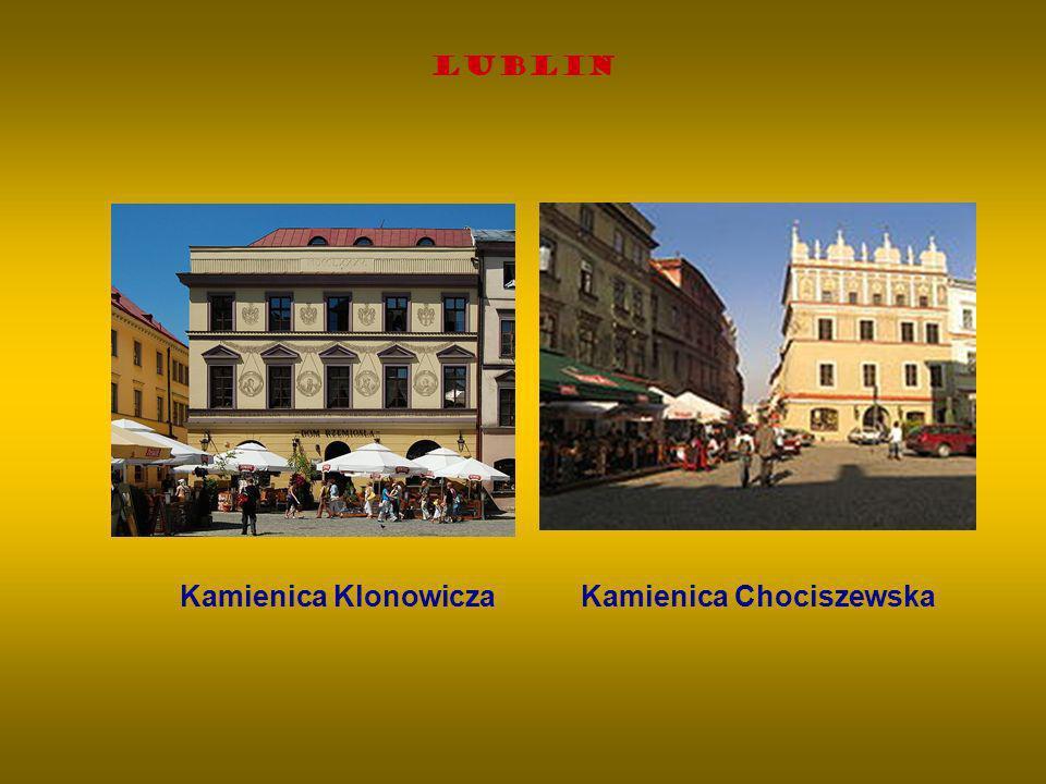 Lublin Kamienica Klonowicza Kamienica Chociszewska