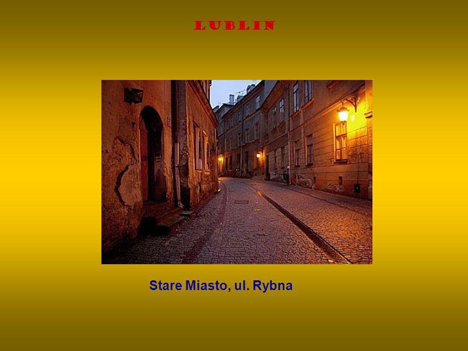 Lublin Stare Miasto, ul. Rybna