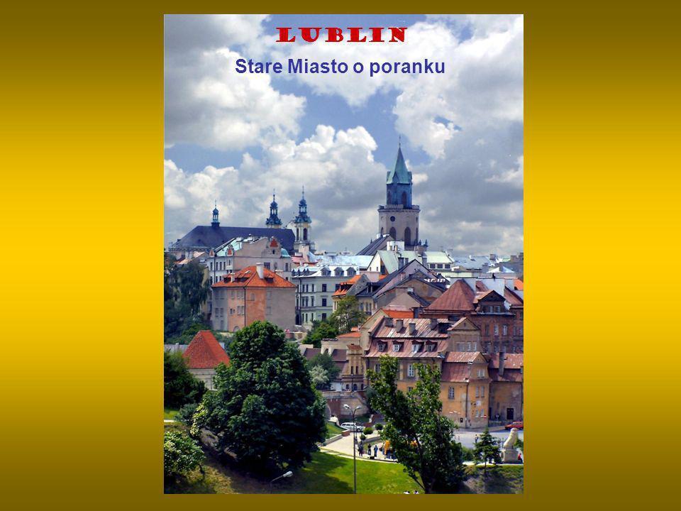 Lublin Stare Miasto o poranku