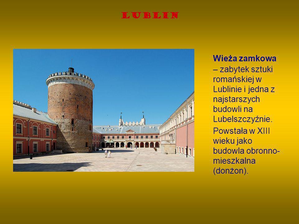 Lublin Wieża zamkowa – zabytek sztuki romańskiej w Lublinie i jedna z najstarszych budowli na Lubelszczyźnie. Powstała w XIII wieku jako budowla obron