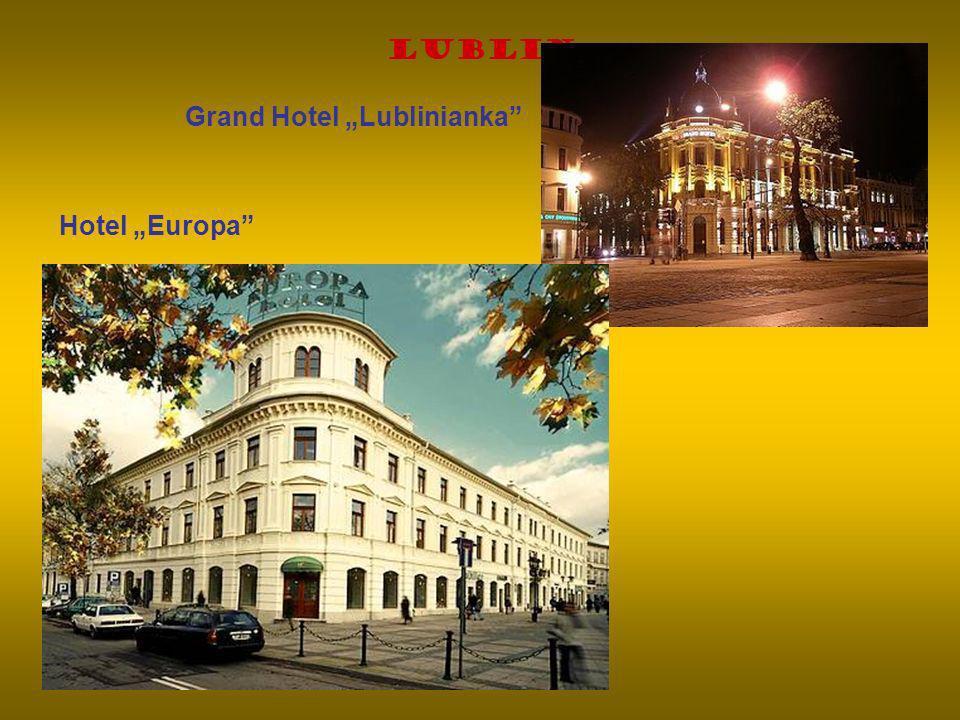Lublin Grand Hotel Lublinianka Hotel Europa