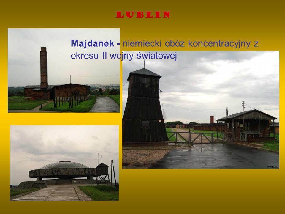 Lublin Majdanek - niemiecki obóz koncentracyjny z okresu II wojny światowej
