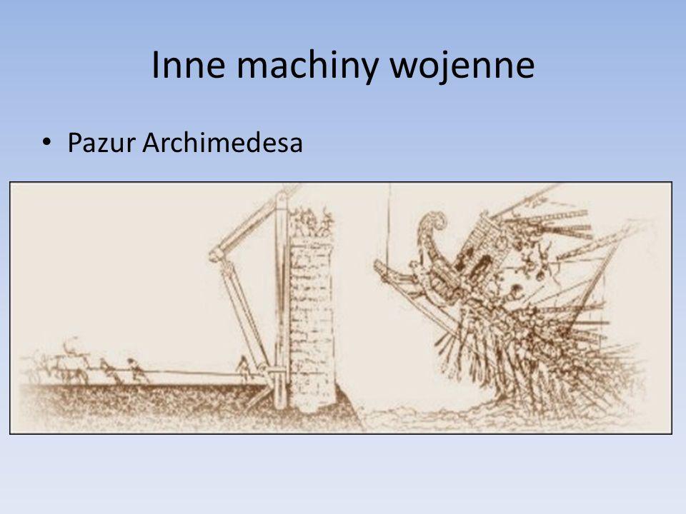 Inne machiny wojenne Pazur Archimedesa