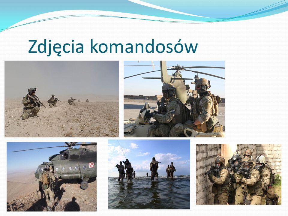 Zdjęcia komandosów