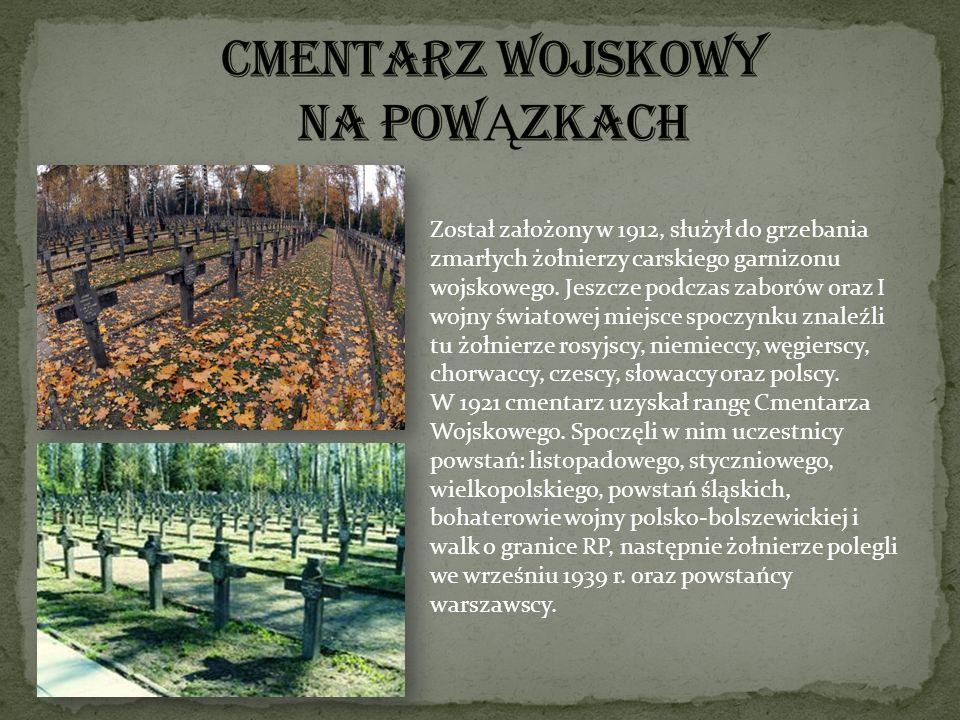 Został założony w 1912, służył do grzebania zmarłych żołnierzy carskiego garnizonu wojskowego. Jeszcze podczas zaborów oraz I wojny światowej miejsce