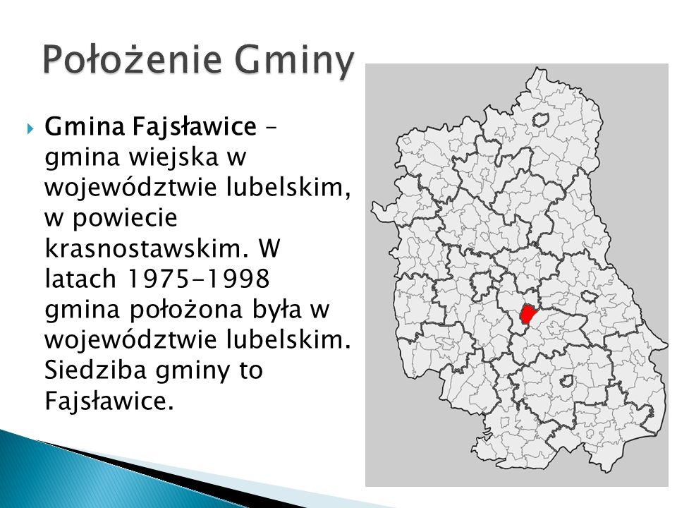 Gmina Fajsławice – gmina wiejska w województwie lubelskim, w powiecie krasnostawskim. W latach 1975-1998 gmina położona była w województwie lubelskim.