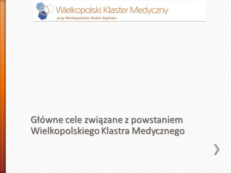 Główne cele związane z powstaniem Wielkopolskiego Klastra Medycznego