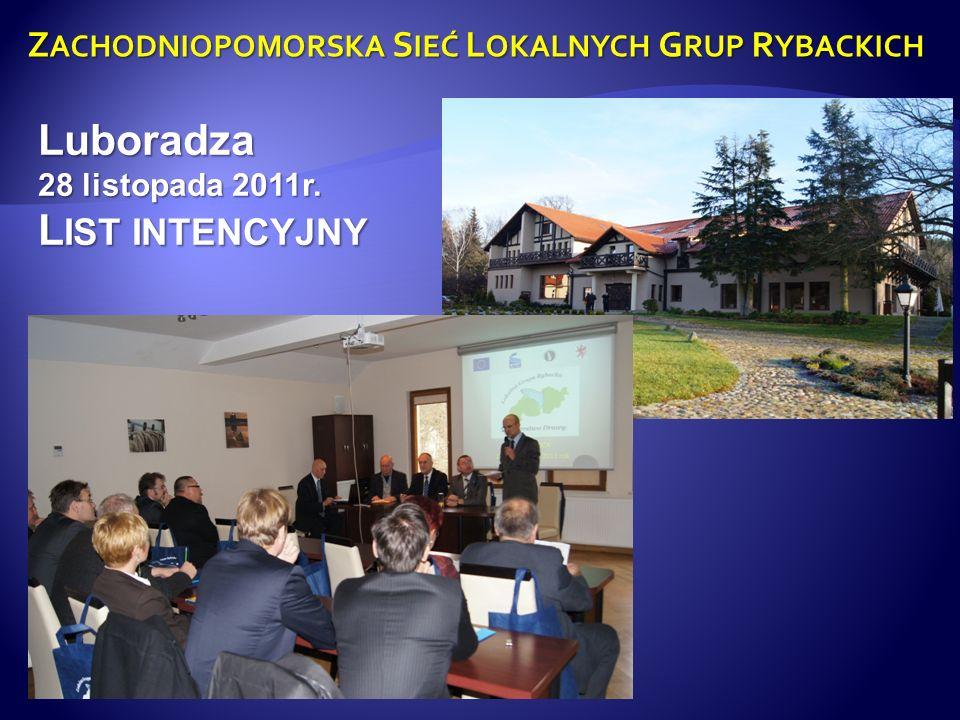 Z ACHODNIOPOMORSKA S IEĆ L OKALNYCH G RUP R YBACKICH 1-3 marca Konferencja w Mielnie