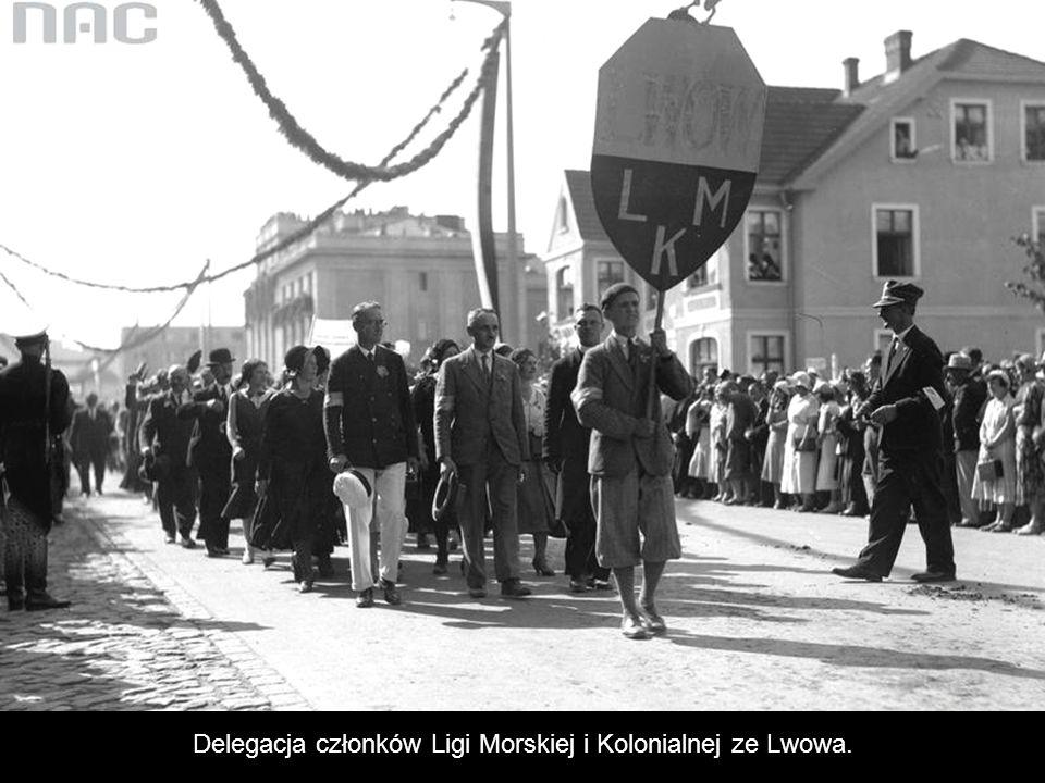 Delegacje z Górnego Śląska.