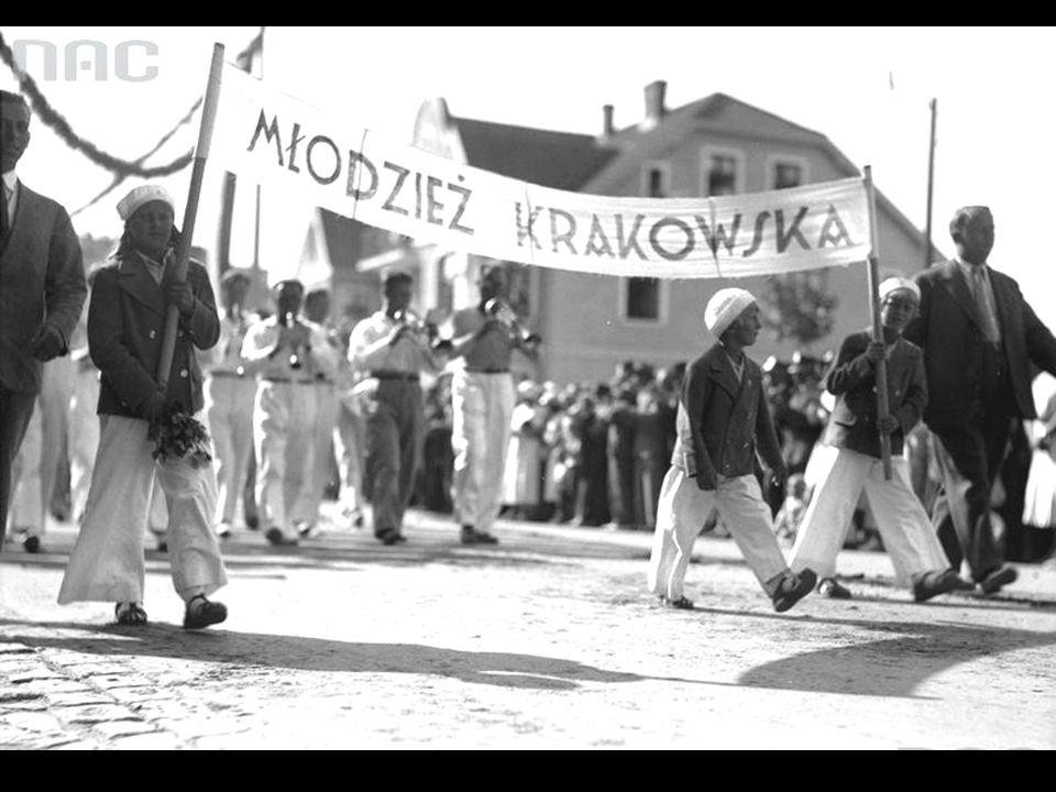 Delegacja z województwa krakowskiego.