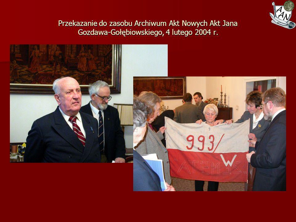Katyń – walka o Prawdę. Wystawa Archiwum Akt Nowych w gmachu Sejmu RP dnia 13 lutego 2000 r.